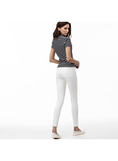 Lacoste Pantolon Beyaz